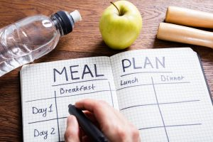 Meal planning in advance is the best defense against poor food choices